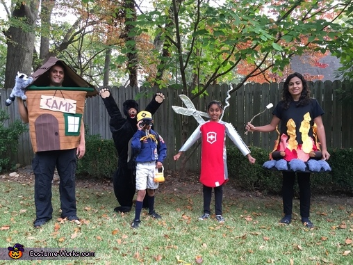 Let's Go Camping! Family Costume