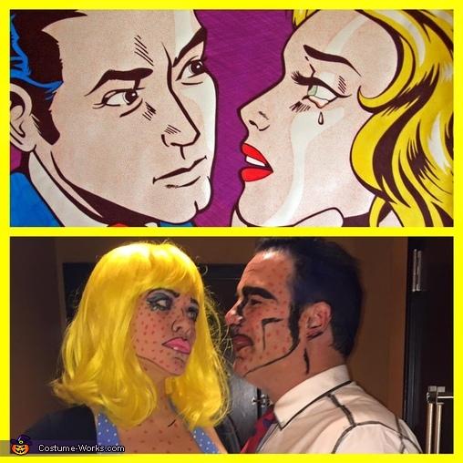 Lichtenstein Couple Costume