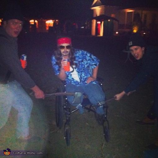 Choppin off Lt. Dan's legs, Lieutenant Dan Costume