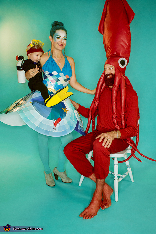 Life Aquatic Family Costume