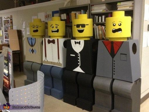 Ready for action!,  Life Size LEGO Costume