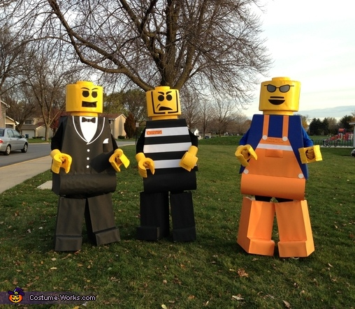 Life Size Legos - Homemade costumes for groups