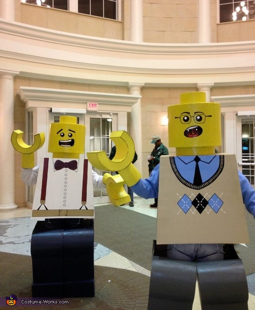 LEGOs in the ballroom!,  Life Size LEGO Costume