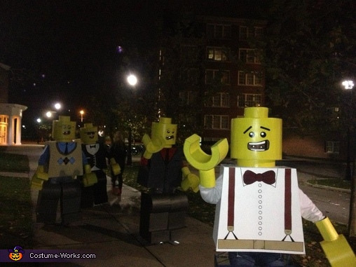 Life Size LEGO Costume for Groups