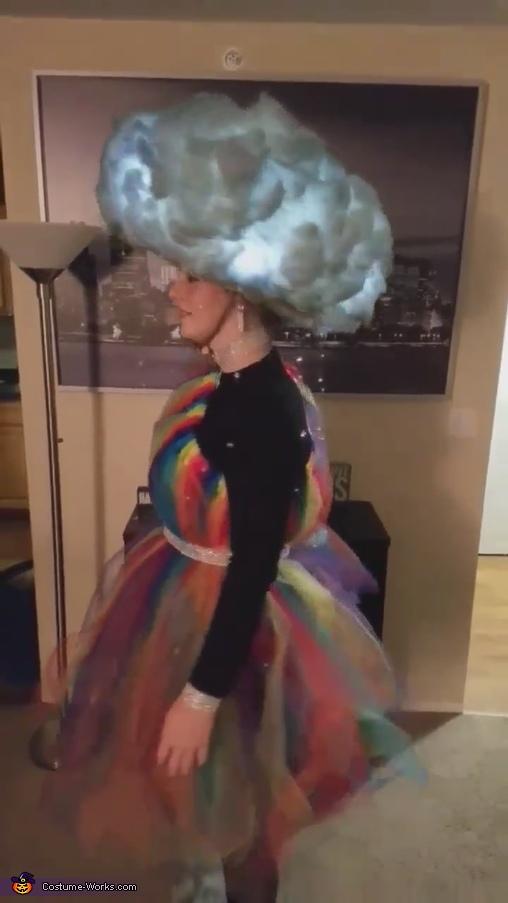Side of Costume, Light-Up Thunderstorm Costume