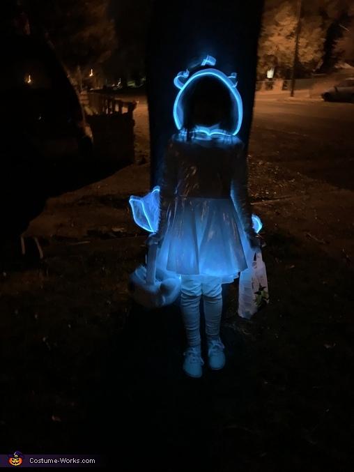 Light Fury Homemade Costume