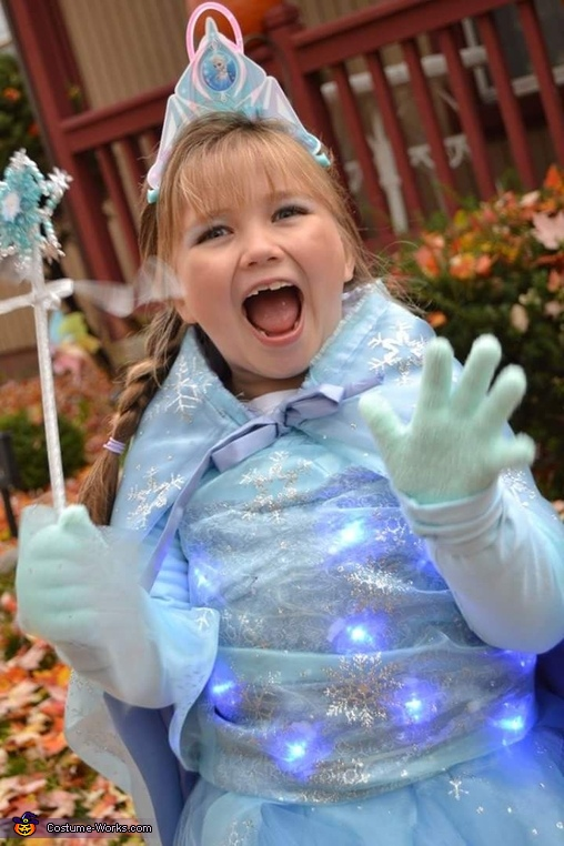 Light up Elsa Costume