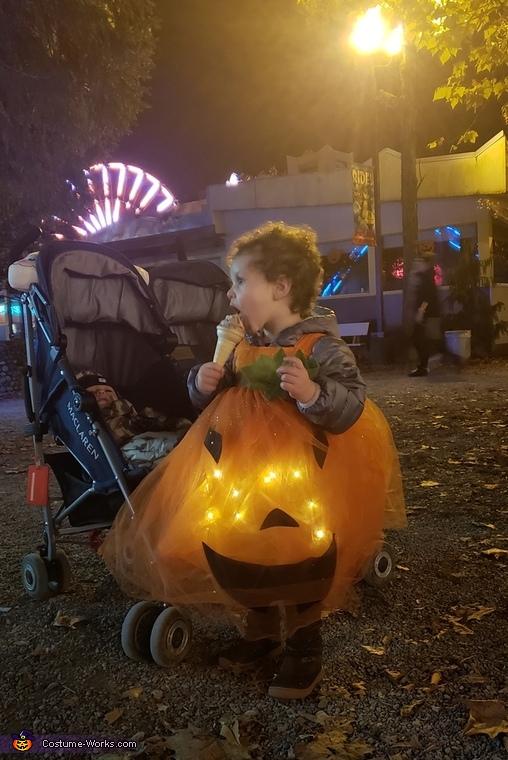 Light Up Pumpkin Costume