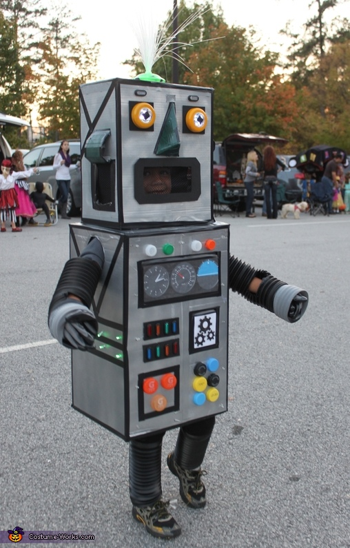Light Up Robot Costume