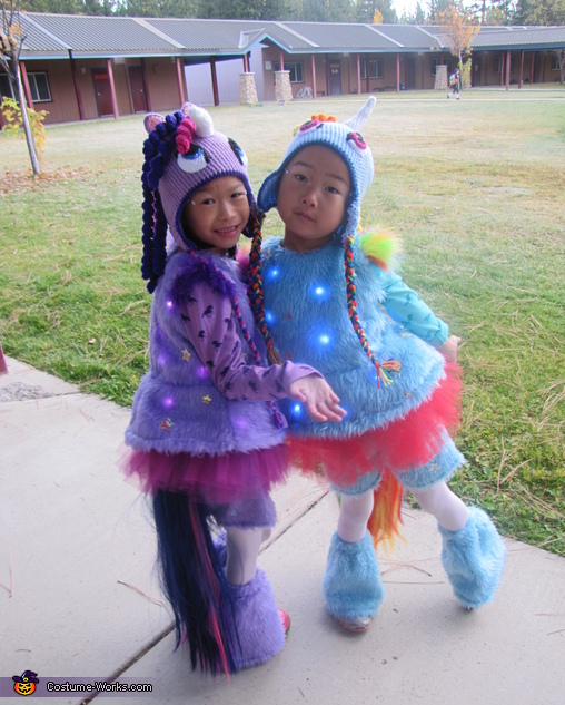 Sister Unicorns Unite!, Light Up Unicorn Costume