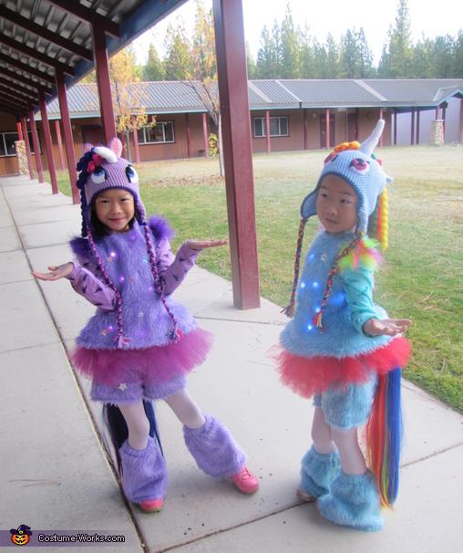 Sassy Unicorns, Light Up Unicorn Costume