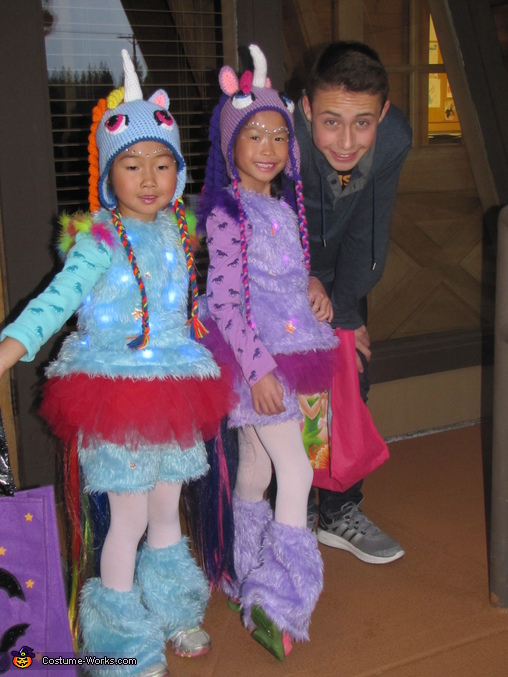 Siblings are the Best!, Light Up Unicorn Costume