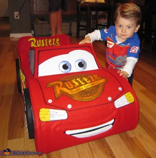 "The ""Amazing"" Lightning McQueen Costume"