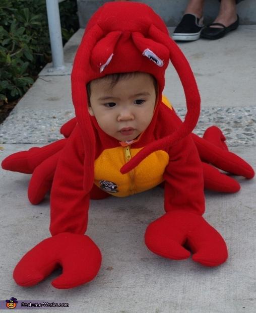 Sebastian costume Mermaid Ariel u0026 Sebastian Costume  sc 1 st  Costume Works & Disneyu0027s Little Mermaid Ariel and Sebastian Costumes for Kids ...