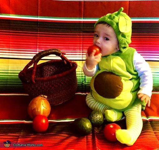 Lil' Avocado Costume