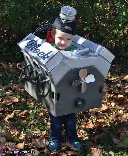 Lil' Block Wyatt Costume