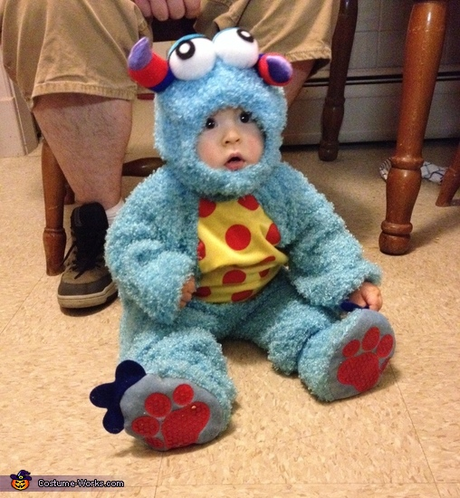 Lil Blue Monster Baby Costume