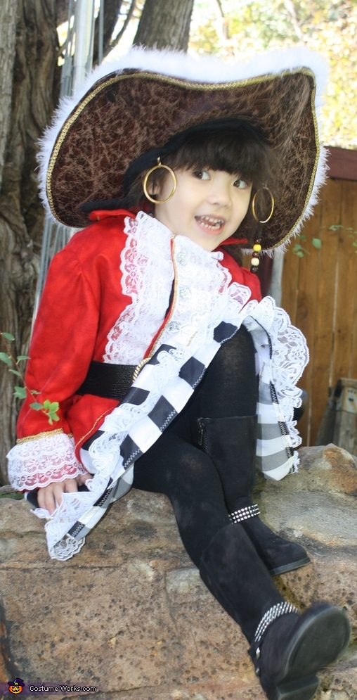 Lil Buccaneer Pirate Homemade Costume