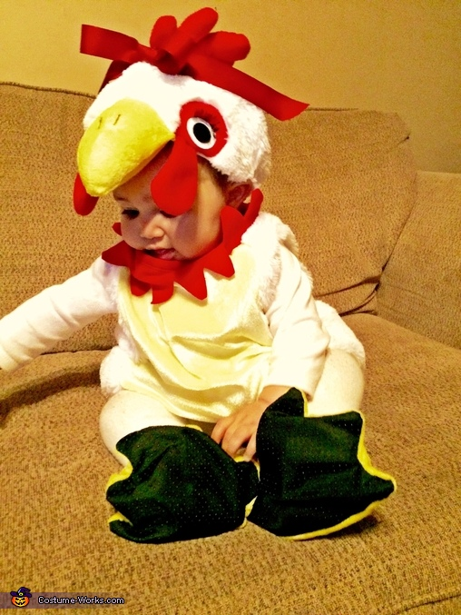 Lil' Chicken Baby Costume