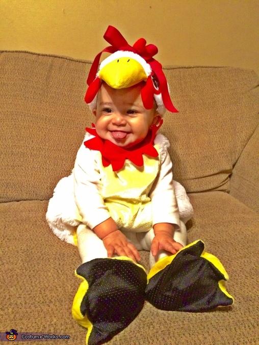 Lil' Chicken Costume