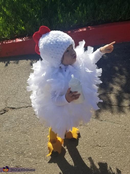 Lil Chicken Homemade Costume