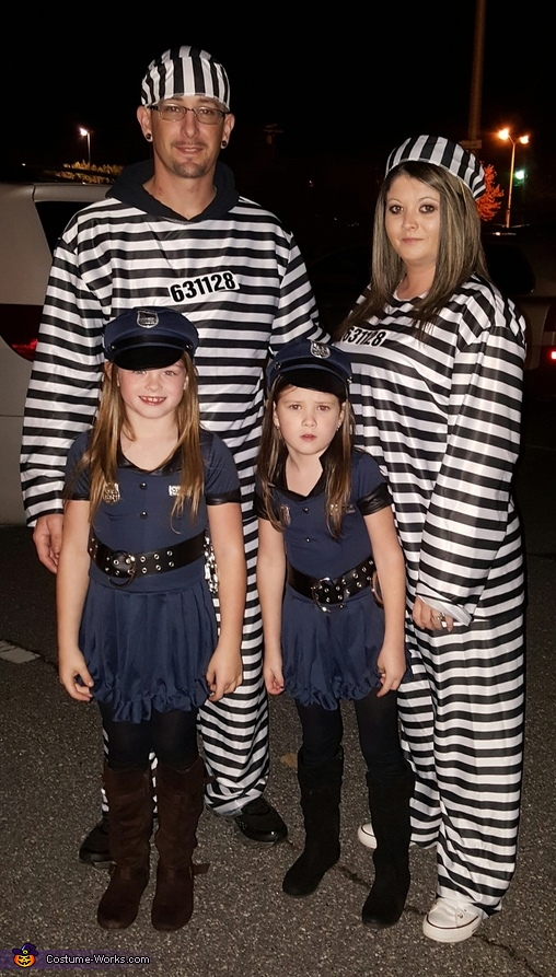 Lil Cops and Jailbirds Costume