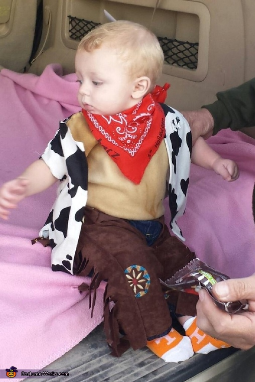 Lil' Cowboy Baby Costume