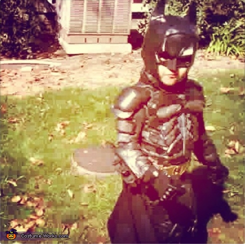 Age 4, Lil' Dark Knight Batman Costume