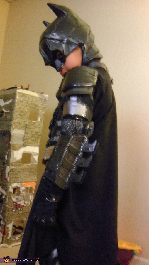 Age 6, Lil' Dark Knight Batman Costume