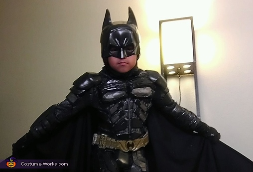 Lil' Dark Knight Batman Costume