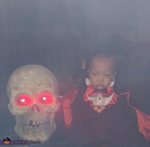Glowing, Lil' Dracula Costume