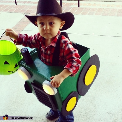 Lil Farmer And His Tractor Costume