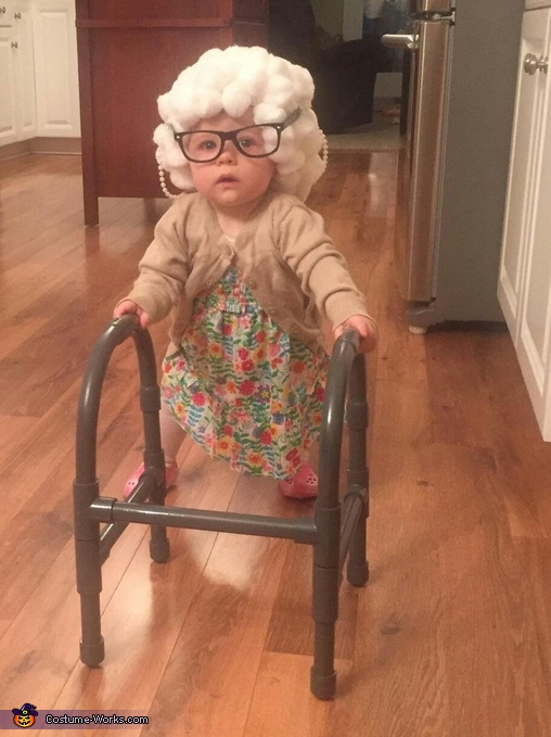 Lil Granny Paisley Costume