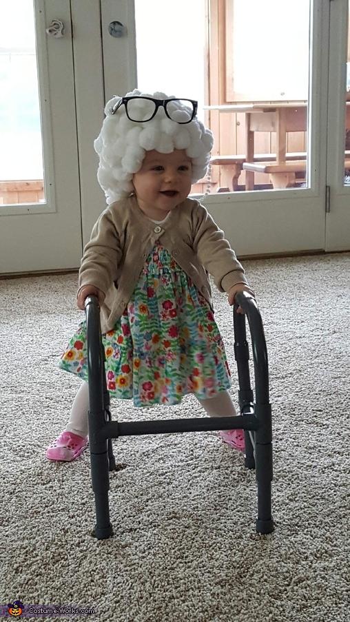 Happy Granny, Lil Granny Paisley Costume