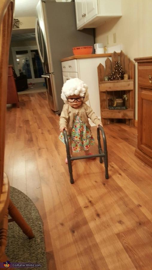 I got this!, Lil Granny Paisley Costume