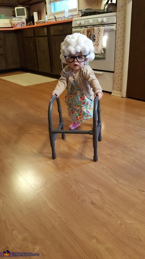 Nice and slow!, Lil Granny Paisley Costume