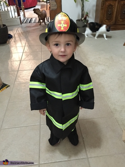 Where's the Fire?, Lil' Heroes Costume