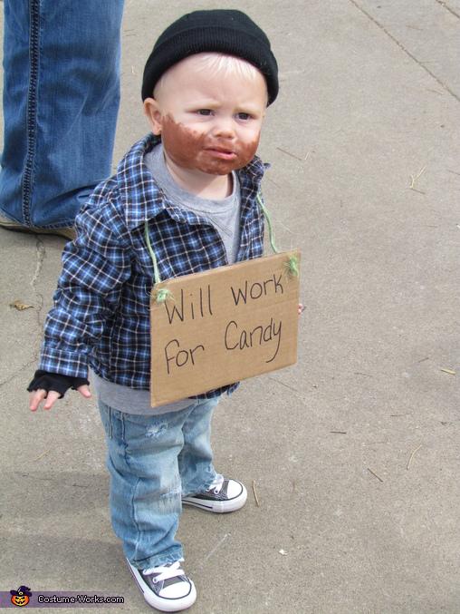Lil' Hobo Baby Costume