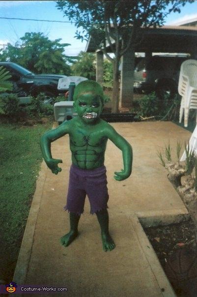 Lil Hulk Costume