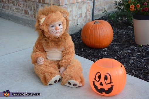 Lil' Lion Baby Costume
