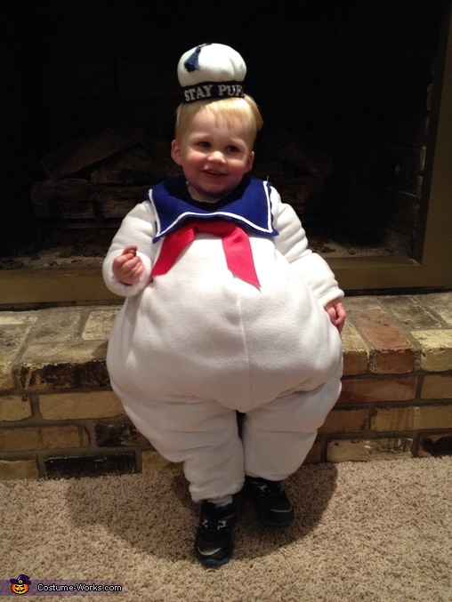 Lil' Marshmallow Man Baby Costume