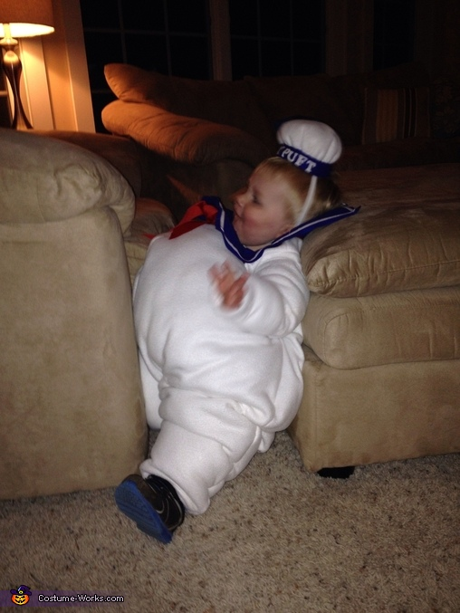 Ooops-I think I'm stuck!, Lil' Marshmallow Man Baby Costume