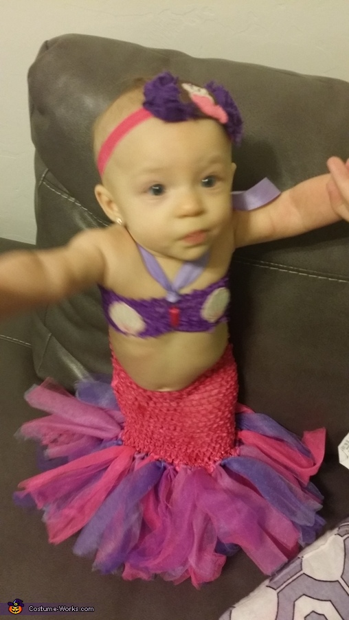 Lil' Mermaid Baby Costume