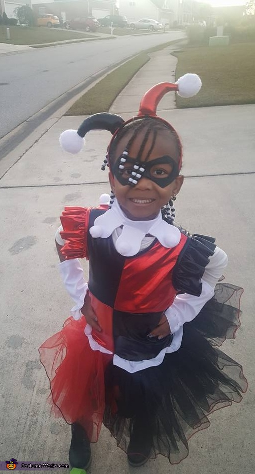 Lil Miss Harley Quinn Costume