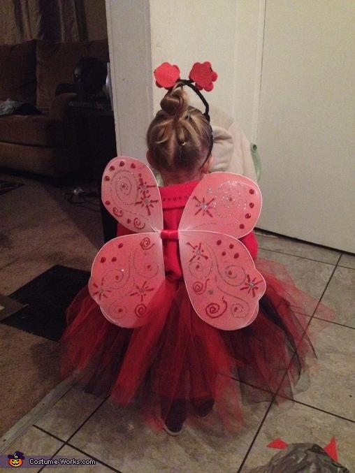Lil Miss Ladybug Homemade Costume