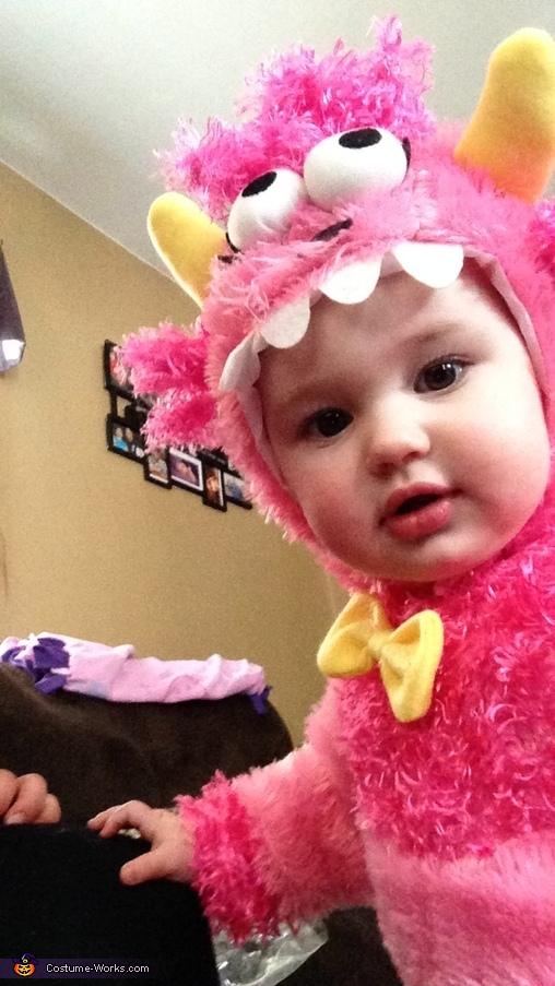 Peek a boo, Lil Monster Costume