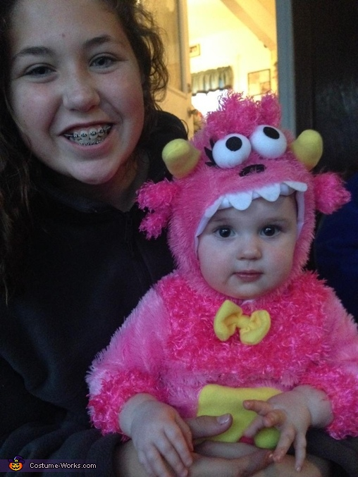 Anyone seen Olivia May, Lil Monster Costume