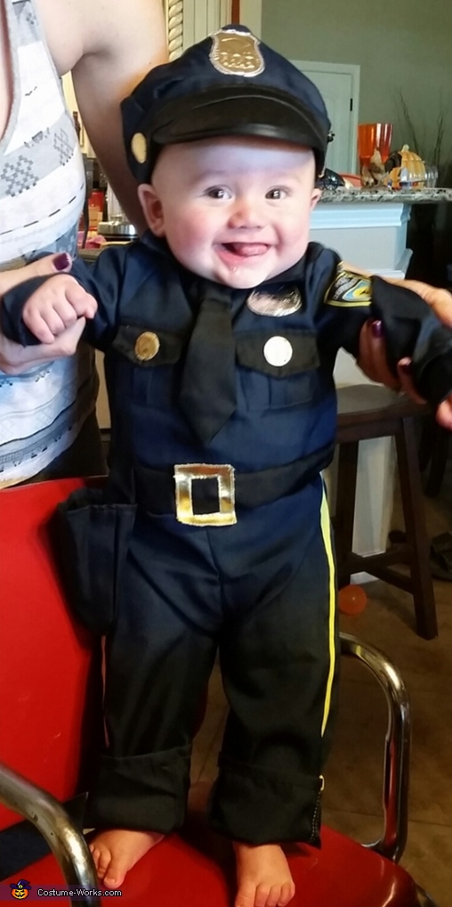 Officer Boutte Costume