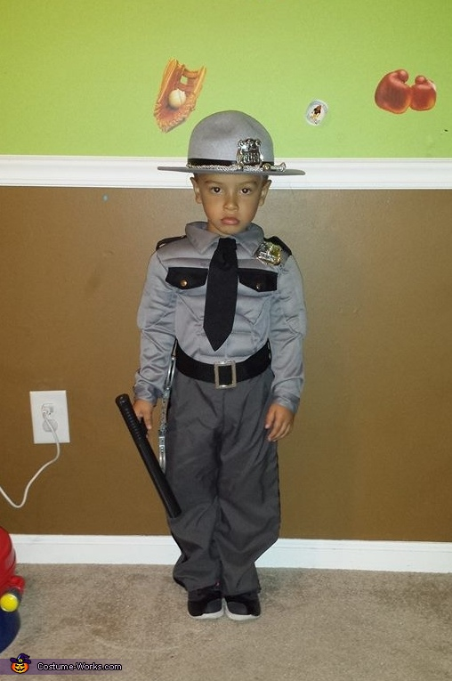 Ohio State Trooper Costume