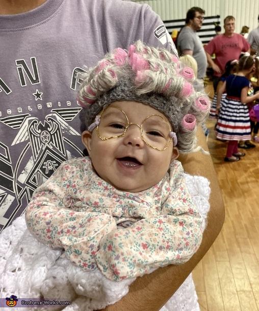 Lil ole' Granny Costume